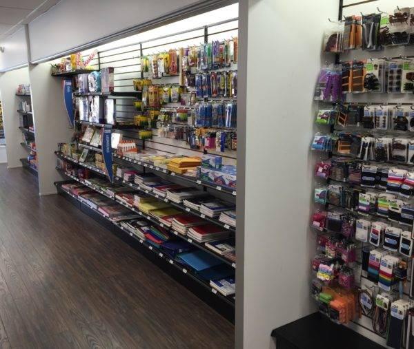 Pharmacy Retail Wall Unit