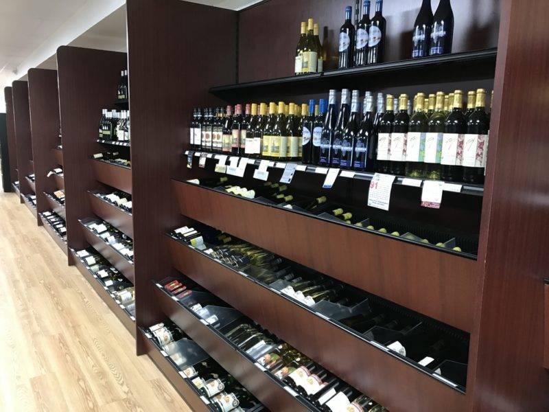 Liquor Retail Wall Display