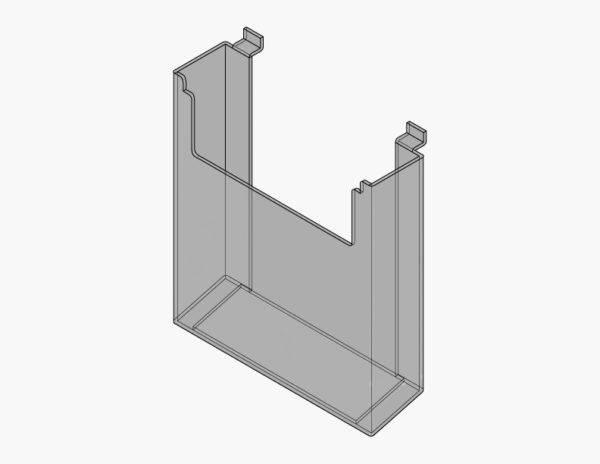 Slatwall Paper Holder Display