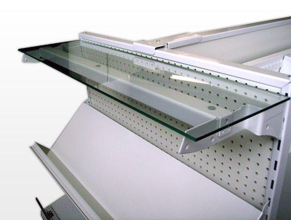Glass Shelving Display