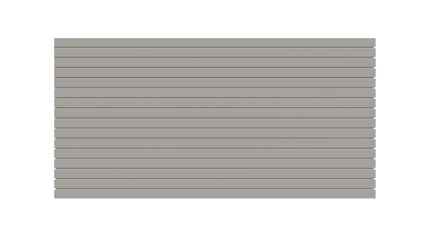 Gray Slatwall Panel