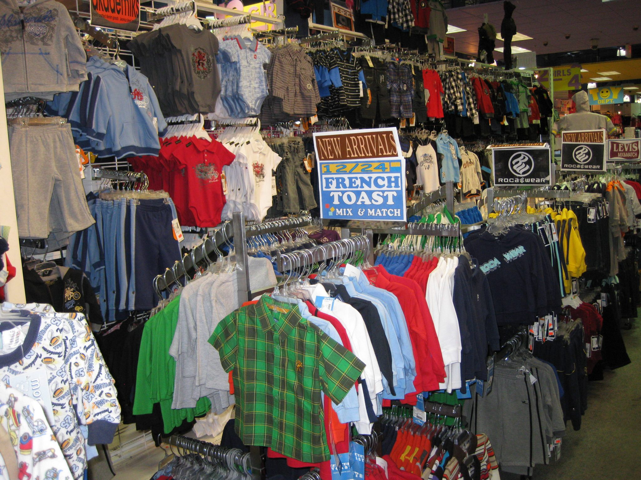Clothing Rack Displays