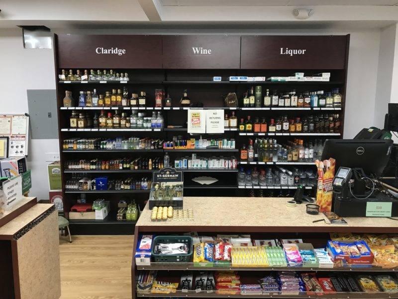 Liquor Store Checkout Area