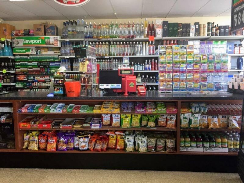 Liquor Store Retail Sales Counter (Front)