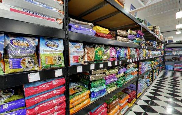 Pet Store Wide Span Shelving
