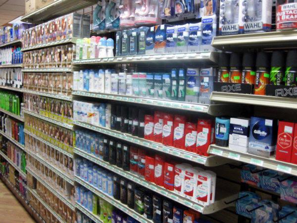 Store Gondola Shelves