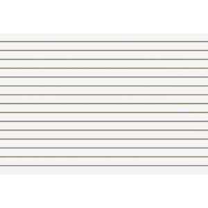 White Slatwall Panel
