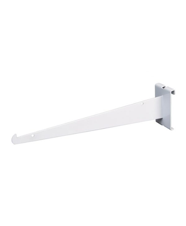 White Gridwall Bracket